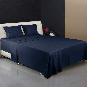 $22.94 (原价$51.8)Utopia Bedding 超细纤维Queen size 床单枕套4件套