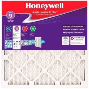 $65起 6折收12张9级高密度空调滤网Honeywell FPR 9 防过敏空调除尘滤网 12张