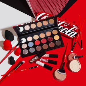 新人享8折上新:Morphe X 可口可乐联名彩妆开售 快乐仙女盘