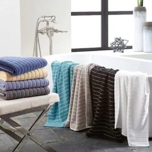 低至4折+额外85折 $4.25起Ralph Lauren, CK,DKNY 等品牌毛巾、卫浴卖会
