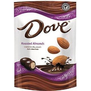 $3.58 凑单好品Dove 杏仁黑巧克力 156克