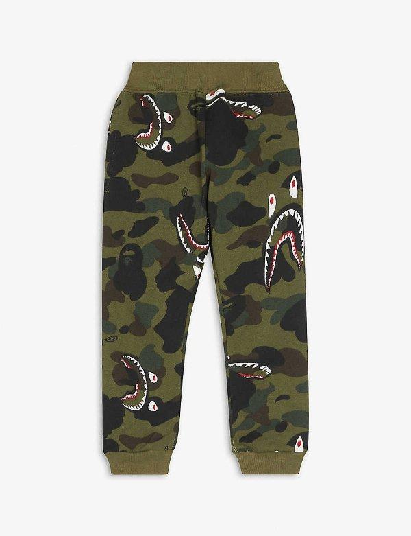 大童迷彩休闲裤