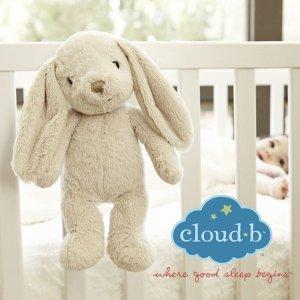 8折  收小兔兔Cloud b 安抚玩具热卖   宝宝安抚、哄睡神器