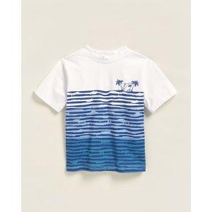 Mini Series(Toddler Boys) Wave Short Sleeve Tee