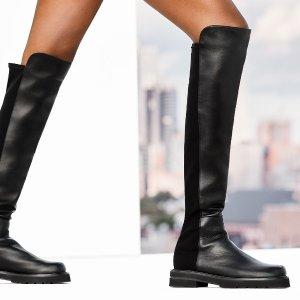 全场一律$299+免邮Rue la la 及膝靴一日闪购,SW多款码全,收Reserve及膝靴