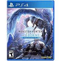 怪物獵人 世界 冰原 大師版 PS4 實體版