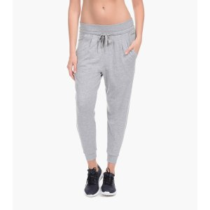 French Terry Cropped Slouchy Jogger
