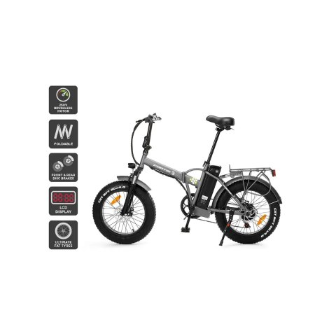 """20"""" 36V 10Ah Fat Tyre Foldable Electric Bike 