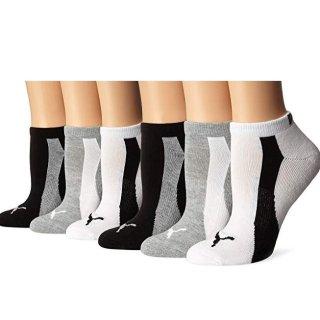 $10.99起 每双不到$2Puma 女款低帮休闲运动袜 6双