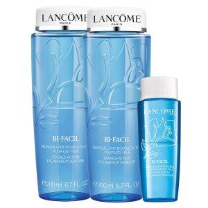 $58.5 (价值$90)Lancôme 眼部卸妆油 最高送价值$304豪礼