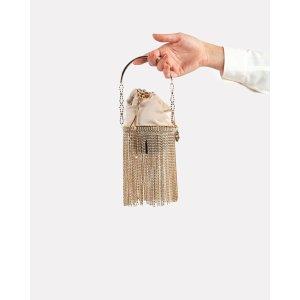 RosanticaKingham Fringed Crystal Bag