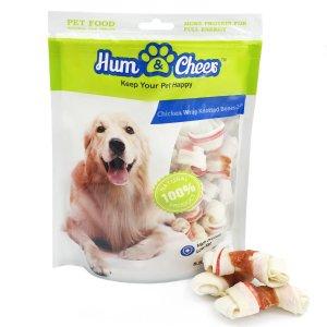 $2.96白菜价:Hum & Cheer 鸡肉味狗狗零食磨牙棒