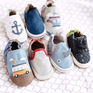 5折起Robeez  婴儿学步鞋服饰促销