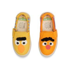 876e704fb1e TomsSesame Street X TOMS Bert And Ernie Face Tiny TOMS Luca Slip-Ons