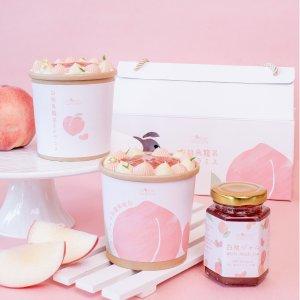 中奖名单公布Cheese Garden 夏日限定【白桃乌龙】最甜蜜の礼物