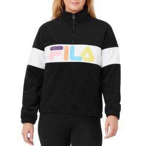$9.97+免邮 多买多省Costco官网 Fila女士Logo款运动卫衣 双色可选