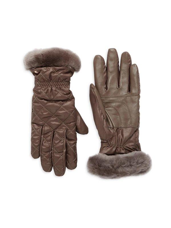 人造皮手套
