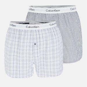 5折 €19.95(原价€39.9) 四色可选Calvin Klein 男士纯棉两条装内裤 ins风舒适透气不紧绷不尴尬