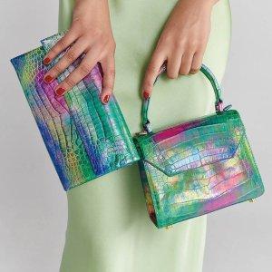 低至2.1折 Dior圆珠笔$119(原价$450)大牌闪购 香芋紫鳄鱼手提包直降$1900 Gucci袖扣$245起