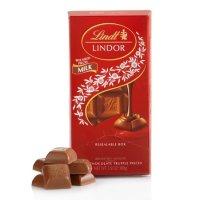Lindt LINDOR 牛奶巧克力板 (3.5 oz)