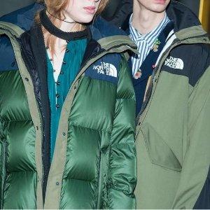 低至3折起The North Face 秋冬精选特卖,羽绒服、大棉袄安排上