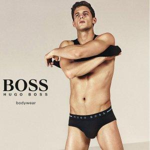3件套 $25.65 (原价$54)Hugo Boss 男士内裤套装特卖 多款多色选 父亲节礼物
