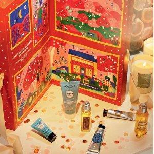 多种精选活动 买就送好礼 收圣诞日历L'occitane 满减及送礼活动进行中 超多系列豪礼限时送