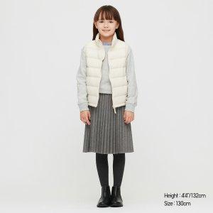 Uniqlo女童百褶裙