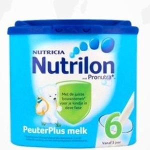 限时买4折合¥56/件Nutrilon 儿童营养配方奶粉 6段400g 适合3-6岁