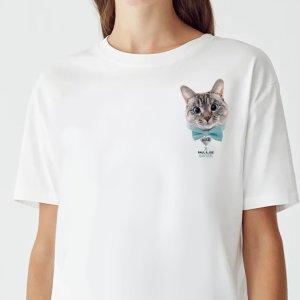 敲可爱猫咪T恤一律$25 马克杯$18Paul & Joe SISTER Nala Cat 合作款限时热卖 喵星人来啦
