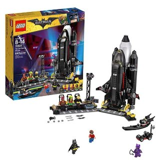 $52.99(原价$79.99) +包邮史低价:LEGO BATMAN MOVIE 系列 蝙蝠穿梭机 70923
