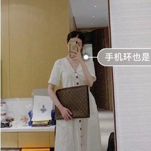 Louis VuittonPoche 手包老花