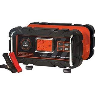 $35.98史低价:BLACK+DECKER 15 Amp 12V 汽车电瓶全自动保养充电器