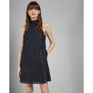 Ted BakerDAYSIL Daisy lace halter dress