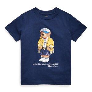 Ralph LaurenCP-93 Bear Cotton Jersey Tee