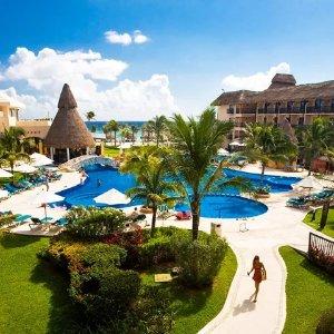 $89起 含花园洋房+餐饮+娱乐活动等墨西哥卡门滩 Catalonia 4星级全包式度假村