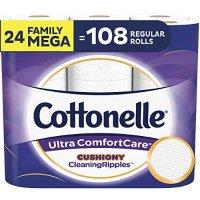 Cottonelle 超舒适卫生纸 24卷超大家庭卷 相当于108普通卷