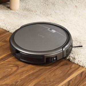 $186.99(原价$249.99)ILIFE A4s 智能远程控制扫地机器人 3步清洁系统 吸力强大