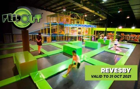 悉尼Flip Out Revesby室内游乐场团价$16起悉尼Flip Out Revesby室内游乐场团价$16起