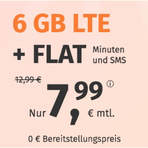 月租€7.99 代号入网送10欧