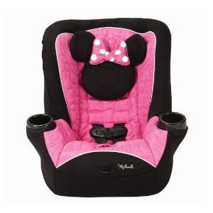 $99.25包邮 原价$149.97史低价:Disney 米妮枚红色小公主安全座椅