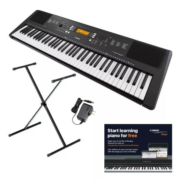 SR-EW300 76键电子琴 带琴架