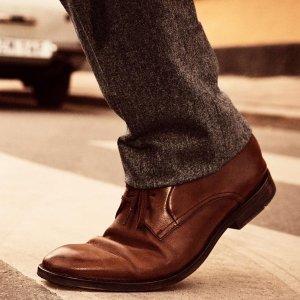 7.5折 女士芭蕾平底鞋也有Clarks 专场热卖 男士秋冬必入牛津鞋、短靴