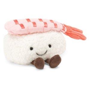 最高减$250+包邮 寿司系列可以预购了即将截止:Jellycat 毛绒玩偶优惠 有邦尼兔新色、水果系列