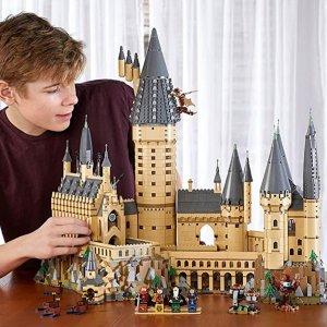 8折 $15.99起 城堡官网缺货LEGO 哈利波特系列拼搭玩具特卖 Hogwarts城堡补货