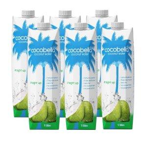 $18(原价$24)生椰美式轻松getCocobella 澳亚销冠椰子水 大容量1L*6瓶