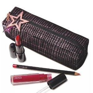 7.5折 $22收口红套装MAC 精选幸运星口红、唇釉、眼影盘促销