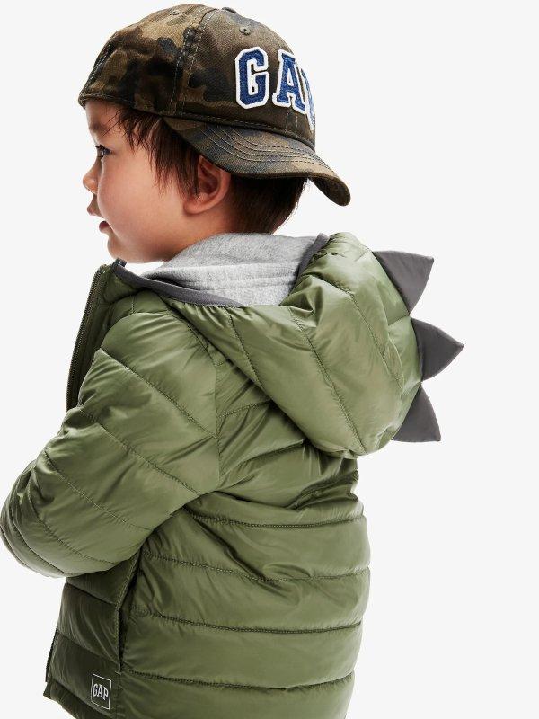 恐龙造型 婴儿、小童保暖外套