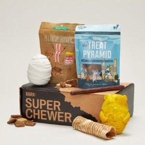 Free Extra MonthSuper Chewer by Barkbox Surprise Dog Box