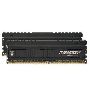 $104.99 内存超频世界纪录缔造者Ballistix Elite 16GB (8GBx2) DDR4 3600 C16 台式机内存